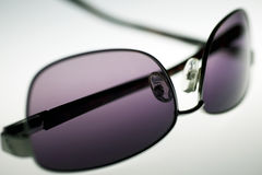 Purple sunglasses Stock Photo