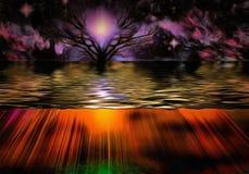 Purple sunset Royalty Free Stock Image