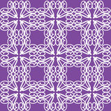 Purple Swatch Lace Pattern Illustration Royalty Free Stock Images