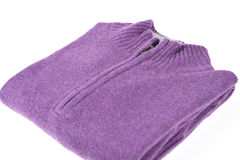 Purple sweater Stock Images
