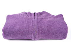 Purple sweater Stock Photos