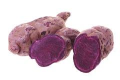 Purple sweet potato Stock Image