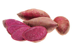 Purple sweet potato Stock Images
