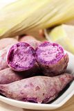 Purple Sweet Potato Royalty Free Stock Photo