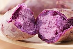 Purple Sweet Potato Royalty Free Stock Image