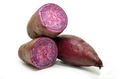 Purple sweet potato Stock Photos