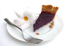 Purple sweet potato (taro) pie Royalty Free Stock Image