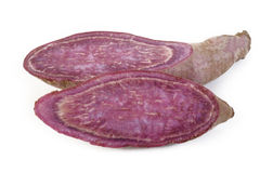 Purple sweet potatoes Royalty Free Stock Photography