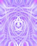Purple Swirl Background. Computer generated purple and magenta swirl pattern Stock Images
