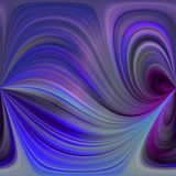 Purple swirls Stock Images
