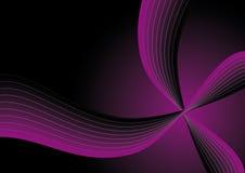 Purple swoosh Stock Photography