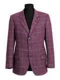 Purple tailored jacket on mannequin Stock Images