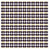 Purple tang, Zebrasoma xanthurum, in repeated pattern royalty free stock photos