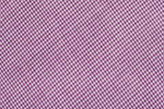 Purple tartan pattern, checkered  fabric. Background Stock Photo