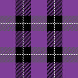 Purple tartan plaid pattern. Vector purple tartan plaid pattern for background vector illustration