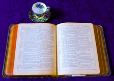 King James Version Bible royalty free stock photo