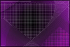 Purple Tech Wallpaper Royalty Free Stock Image