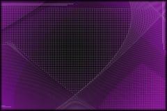 Purple Tech Wallpaper. Purple, black and white futuristic background Royalty Free Stock Image