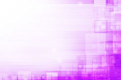 Purple technical abstract background Royalty Free Stock Image