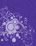 Purple-Tendrils-background Stock Images