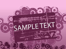 Purple Text Copyspace Royalty Free Stock Image
