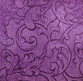 Purple textile Stock Image