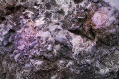 Purple texture of natural rock Royalty Free Stock Photos
