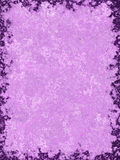 Purple Textured Background. A purple paper style background with darker border royalty free illustration