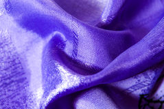 Purple textured fabric background Royalty Free Stock Photo