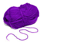 The purple thread Stock Images