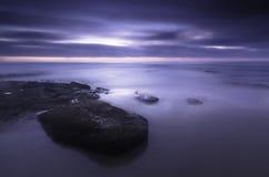 Purple Tide Royalty Free Stock Image