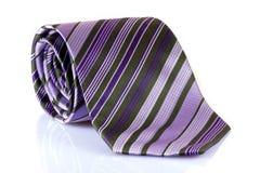 Purple tie Stock Photo