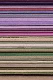 Purple to Brown Ragged Edge Stock Image