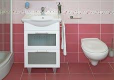 Purple toilet Royalty Free Stock Photos