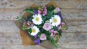 Purple tone Flower bouquet Royalty Free Stock Image