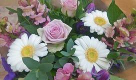 Purple tone Flower bouquet Stock Images
