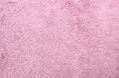 Purple towel as background Royalty Free Stock Images
