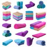 purple towe Stock Photos