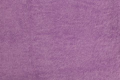 Purple towel texture. Purple soft fluffy  towel texture Royalty Free Stock Images