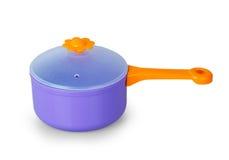 Purple toy pan Royalty Free Stock Image