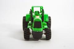 purple toy tractor 免版税库存照片