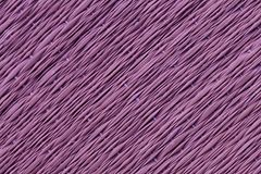 Purple Traditional thai style nature background of brown handicraft weave texture wicker surface for furniture material.  Stock Images