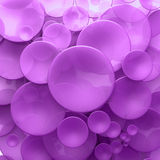 Purple transparent disk background Royalty Free Stock Photo