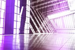 Purple Trendy Creative Abstract Background Royalty Free Stock Images