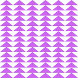 Purple triangle geometric seamless pattern. Seamless pattern with purple triangles on white background vector illustration
