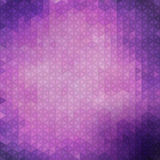 Purple triangle pattern Royalty Free Stock Images