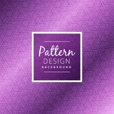 Purple triangle pattern background vector design illustration Stock Photos