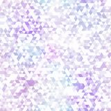 Purple triangle seamless pattern Royalty Free Stock Image