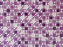 Purple and turquoise mosaic tiles Stock Photos