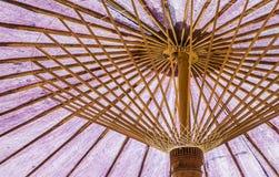 Purple Umbrella. Use for background Stock Photos